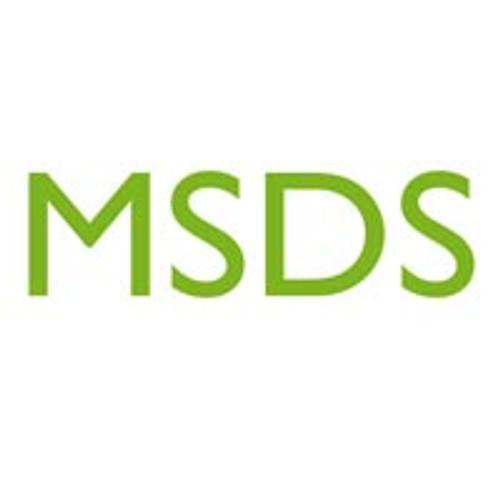 MSDS - Deionized Water
