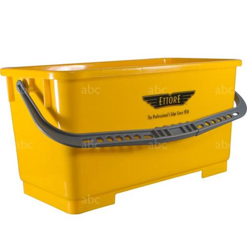 Bucket -- Ettore - 6 Gallon Rectangular - Yellow - Each