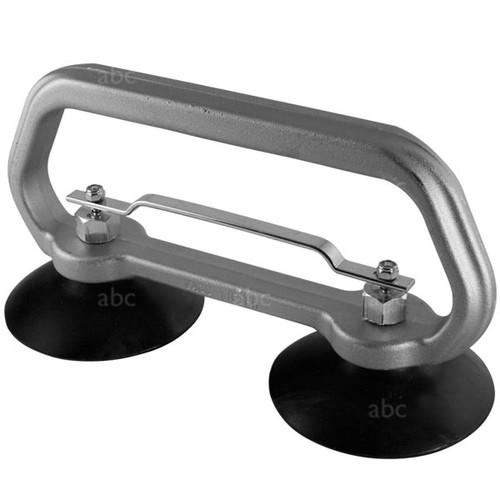 """Suction Cup Grabber - Double - 4"""" - Stainless Steel Fittings"""