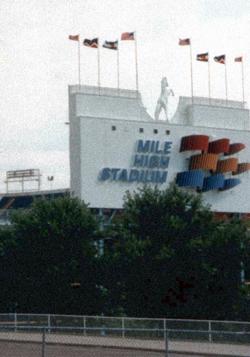 Mile High Stadium T-shirt