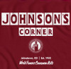Johnson's Corner T-shirt - Red