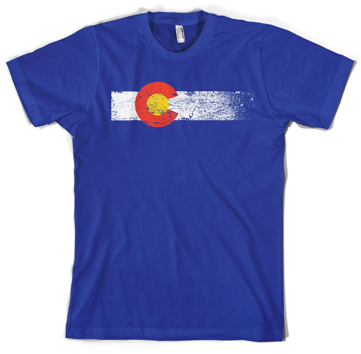 colorado flag shirt colorado state flag t shirt