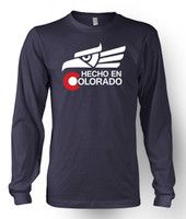 Hecho en Colorado Long Sleeve T-Shirt