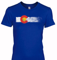 Colorado Flag Women's T-Shirt