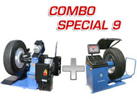 Atlas Combo Truck Tire Changer TTC-301 & Truck Wheel Balancer WBT-210