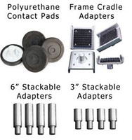 BendPak 16-Piece Adapter Set for BendPak 2-Post Lifts with 35mm Pin
