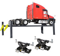 BendPak Combo HDS-27X / RBJ-15000   4-Post Lift 27000 LB