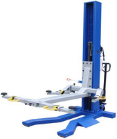 Ideal MSC-6KLP  6,000 lb. capacity Mobile Single Column Lift