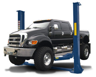 Buffalo TP12KFX 12,000 LB Heavy-Duty Two-Post Symmetric Lift ...