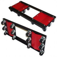 Merrick Machine M998051 Ginormous Tandem Dolly - 8000 lbs. Capacity (Sold INDIVIDUALLY)