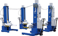 Ideal MSC-18K-X-472 Single Mobile Column Lift System 72,000 Lbs. Capacity (Set of 4)