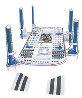 Signature Hybrid 20' Four Tower Frame Machine - 3 Main and 1 Roller