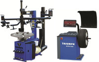Triumph NTC-950-2 + NTB-550 TIRE CHANGER AND WHEEL BALANCER