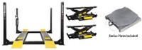 Dannmar Combo  Major Series D-12A 12,000 Lbs Capacity Alignment Lift & 2 x Bridge Jacks