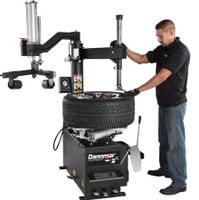 "Dannmar T-100 Tire Changer 25"" with Power Assist Arm"