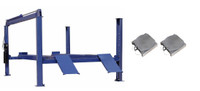 Buffalo FP14KA Heavy Duty 4 Post  Alignment Lift 14,000 Lbs  Turnplates included.
