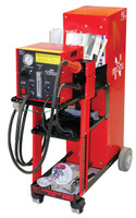 Polyvance URE-6066-CG Nitro Fuzer Nitrogen Plastic Welding System - (Digital Display) with Cart and Generator