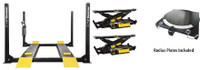 Dannmar Combo  Major Series D-12A 12,000 Lbs Capacity Alignment Lift & 2 x Bridge Jacks/ Airline Kit