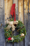 Christmas in Bloom Wreath