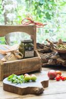Arugula Pesto and Cheese Board