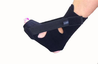 soft night splint for plantar fasciitis and heel pain