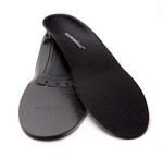 SuperFeet Black Insoles - Shoe Insoles for Low Arches & Sensitive Feet