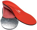 SuperFeet Red Hot Insoles - Men's Medium to High Arch Support