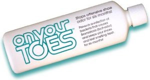 on your toes stop offensive foot odor and smelly feet 3/4 oz.