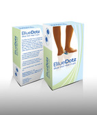 Blue Dot Silicone Heel Cups