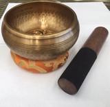 Singing Bowl - Hand Beaten double dorjee Gift Pack
