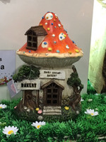 Fairy Bread Bakery Fairy House  (Mushroom)