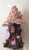 Pink Flower Solar  House
