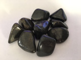 Healer's Gold Tumbled Stone