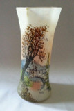 Legras Signed Hand Painted Vase