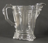 Viking Pattern Glass Water Pitcher 1876 Hobb's Centennial