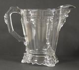 Viking Pattern Glass Water Pitcher 1876 Hobb's Centennial