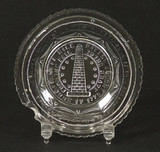 Bunker Hill Flint Glass Cup Plate Lee #645a