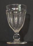 Flute Flint Glass Goblet