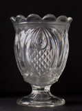 New England Pineapple Flint Glass Spooner
