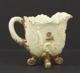 Northwood Custard Glass Louis XV Creamer