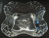 Open Branches Pattern Glass  Bowl - Circa 1870's