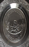 Royal Lady - Crying Baby Bread Plate Belmont Glass