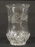 Kokomo - Bar and Diamond Celery Vase w Engraving