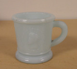 Ceres Medallion Cameo Blue Alabaster Aqua Childrens Mug