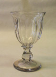 Brooklyn Flute Flint Glass Goblet