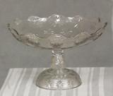 Stippled Sandbur compote, Stippled Star variant, Beatty-Brady Glass Company   ,