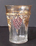 Paneled Grape Decorated Tumbler