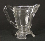 Triple Bar with Cable EAPG creamer by George Duncan & Sons