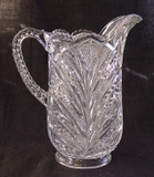 Bryce Higbee Palm Leaf Fan Milk Pitcher