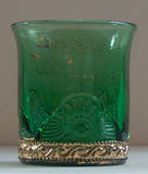 Lacy Medallion or Colorado Green Tumbler